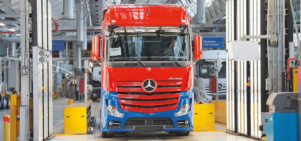 2016 model Mercedes Benz Actros ve Arocs (160)